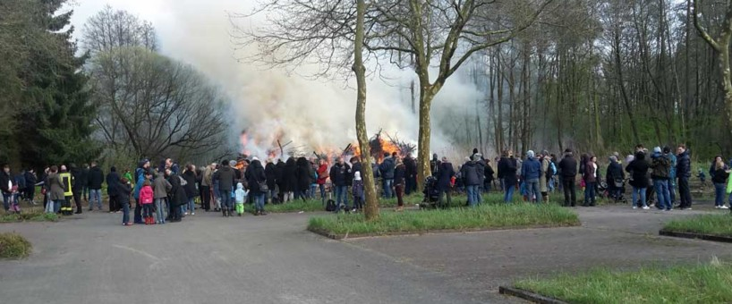TSV Familien Osterfeuer 2017
