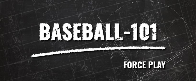 Baseball-101: Das Force Play